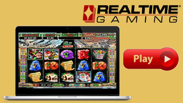 7 Game Slot Terbaik Realtime Gaming 2020